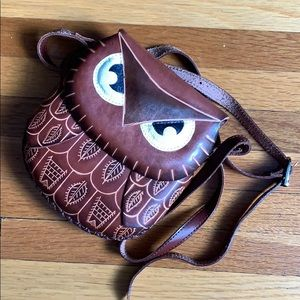 Handbags - Handmade Crossbody Owl Purse
